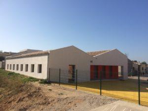 Mairie de Beauvoisin Agrandissement de l'Ecole et de la Cantine 2016-2017