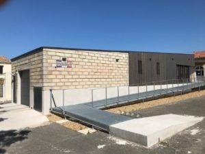 Mairie de Clarensac / Pascual Architecte construction du Local de Police Municipale 2017
