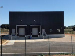 SEGARD / AITEC sur la commune de Vauvert  bâtiment de stockage de la SIDAM 2018