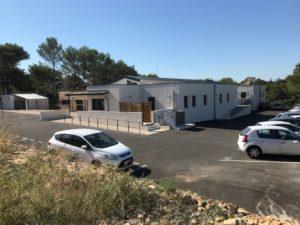 CHU de Nîmes avec VIVADOM Construction de la Crèche 2017-2018