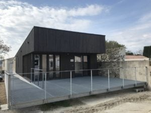 Mairie de Clarensac / Pascual Architecte construction du Local de Police Municipale 2017