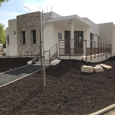 Mairie de Caissargues / Ouvier Architecte construction d'un Pôle Santé 2018-2019